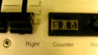 TANDBERG TCD 320 CASSETTE DECK. ( PROFI Cassettenmachine )  TEST