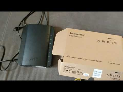 Arris modem review - YouTube