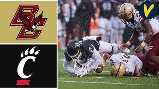 Boston College vs #21 Cincinnati Highlights | 2020 Birmingham Bowl Highlights | College Football