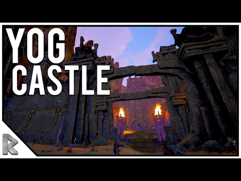 THE MAIN YOG CASTLE & BEST BUILDING LOCATION!  Conan Exiles Gameplay 17