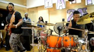 THAD & VARO #JOBROS THE FEELING,DRUMMER VIDEOS,GOSPEL DRUMMERS VIDEOS,SESSION DRUMMERS
