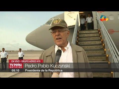 Presidente Kuczynski viaja a Tacna para cumplir actividades