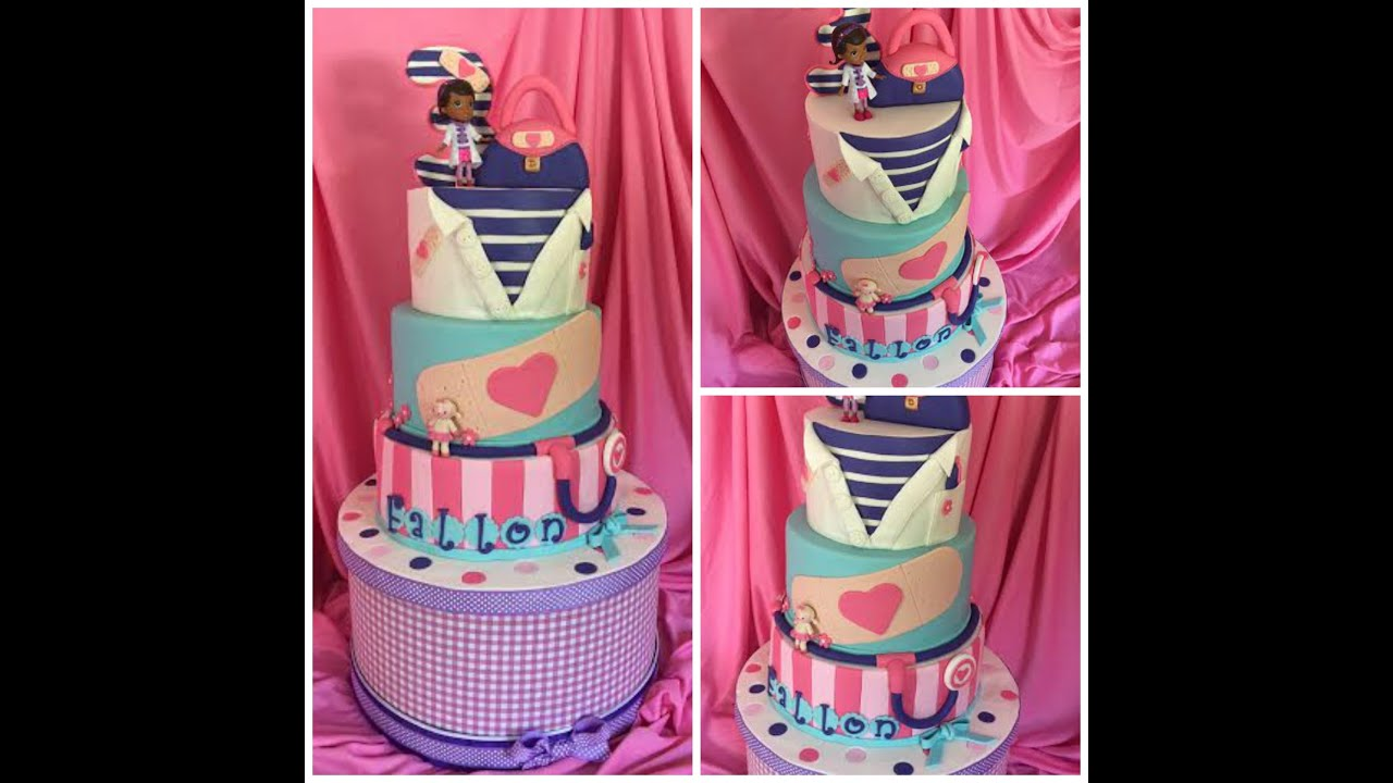 Doc Mcstuffins Layer Cakes