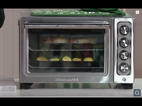 Kitchenaid Countertop Convection Oven With Extra Broil Pan