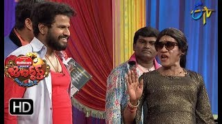 Hyper Aadi, Raising Raju Performance | Jabardasth | 7th June 2018 | ETV  Telugu