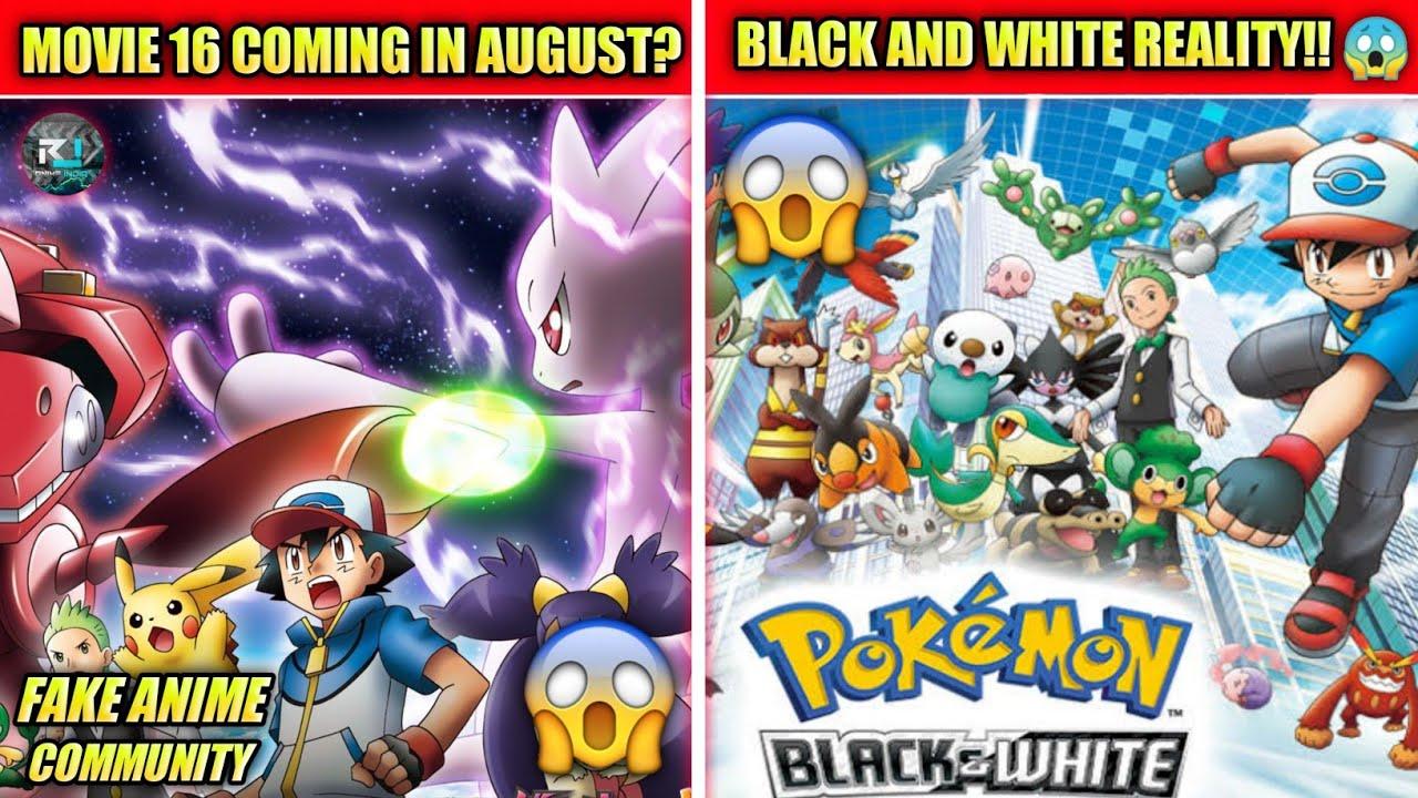 Pokemon Movie 16 Coming Today ??   Pokemon Black And White Hindi Dub Coming  Soon #fakenewscommunity - YouTube