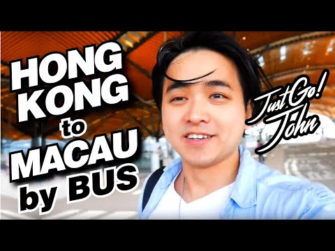 How To Go from HONG KONG to MACAU by BUS | 怎麼去澳門從香港