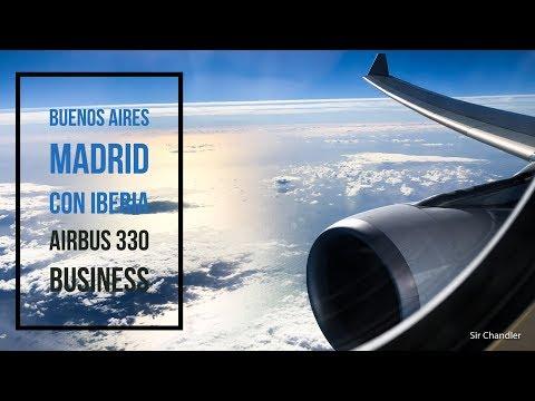 Airbus 330 Iberia Buenos Aires Madrid - business