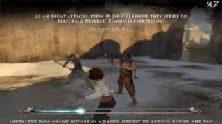 Prince of Persia PC gameplay 1680x1050 8xAA highest settings (720p HD playback)