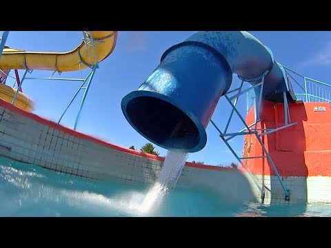 Veneza Water Park In Brazil (Latino Music Clip!)