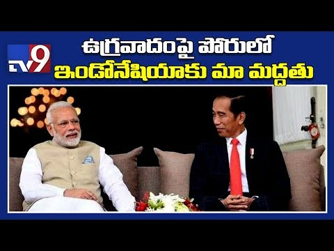 PM Modi in Jakarta, inks deal with Indonesia government - TV9