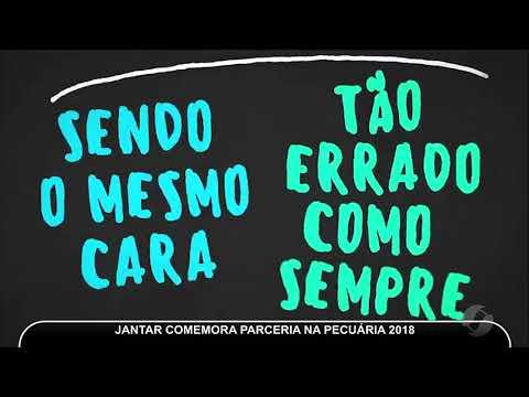 JMD (15/05/18) - Jantar Comemora Parceria Entre TV Serra Dourada E Rádio 99,5 FM Na Pecuária 2018
