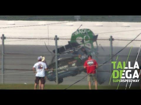 Jeff Kent - WATCH:  Kyle Larson, wild ride at Talladega
