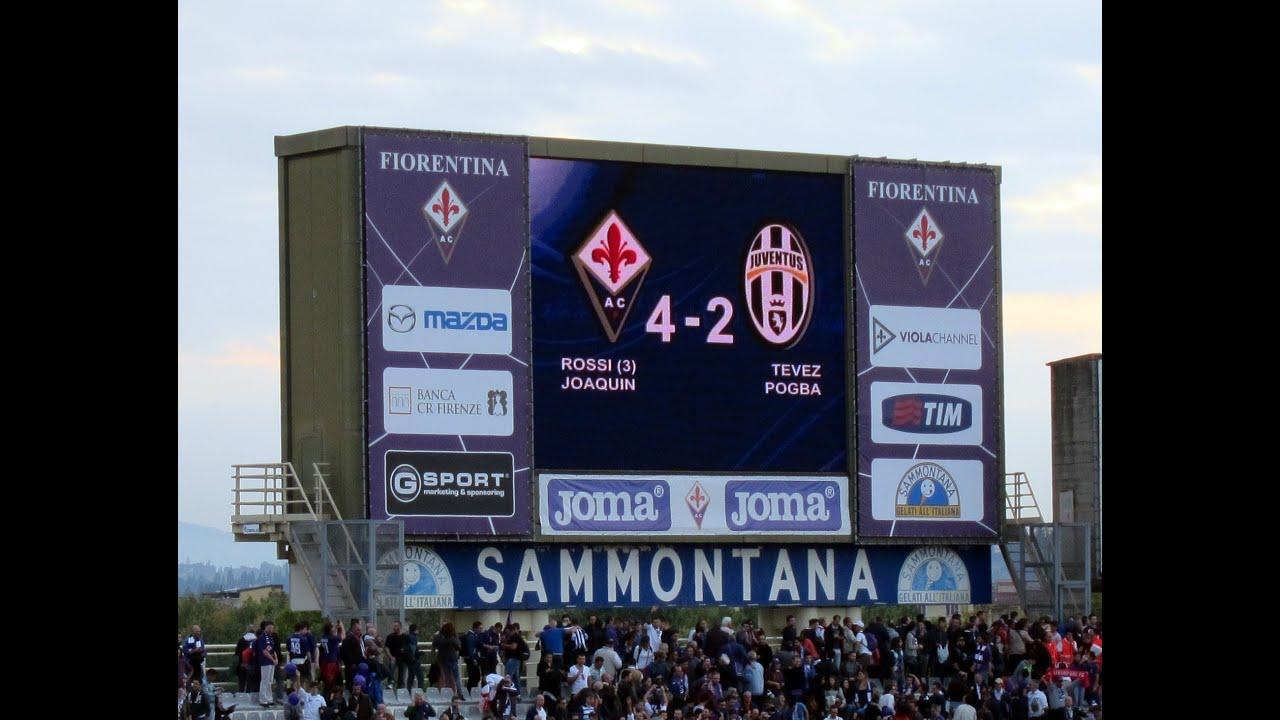 Juventus Fiorentina - Juventus 4-2 20/10/2013 Joaquín and Rossi ...