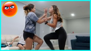 FIGHTING WITH MY SISTER DURING QUARANTINE | SISTERFOREVERVLOGS #738