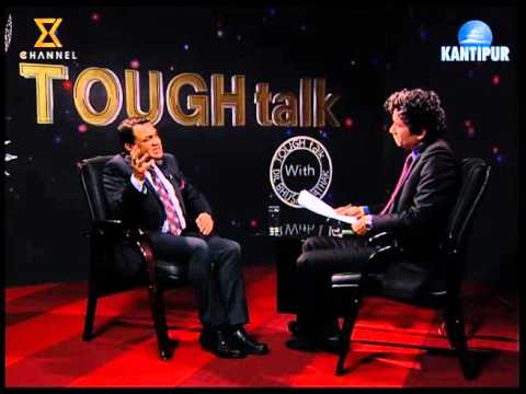 टफ टकमा दीपक रौनियर - TOUGH talk with Deepak Rauniyar (CEO - Jalbidhut lagani tatha Bikash Company
