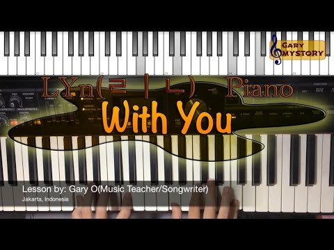 LYn(린) - With You l 태양의 후예 OST Part 7 Piano Cover Tutorial Song Backtrack Descendants of The Sun