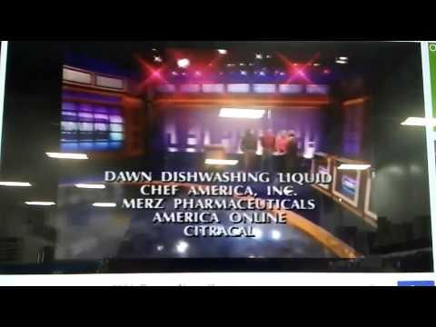 Jeopardy! Season 18 Credits (9/11/2001)