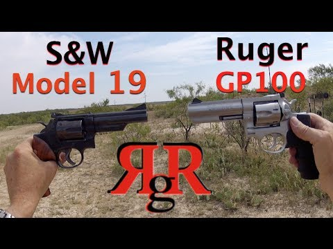 S&W Model 19 / Ruger GP100 Comparative Review