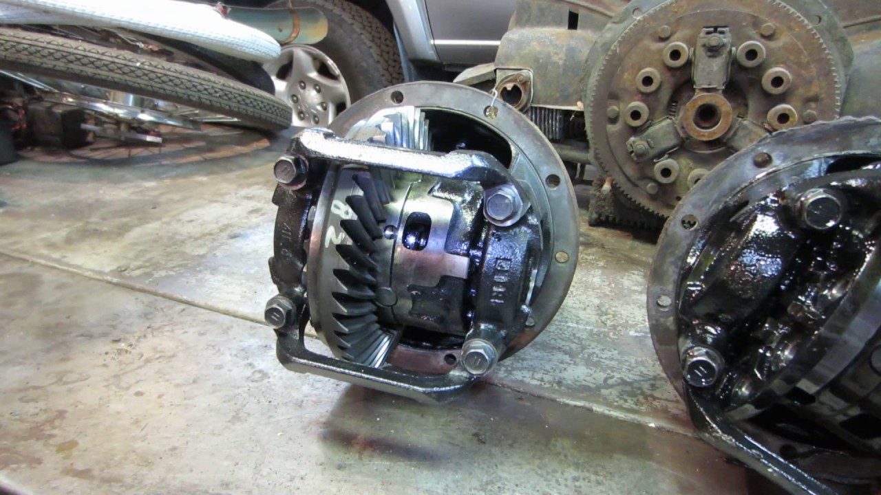 Toyota Tundra Rear Differential Repair Youtube