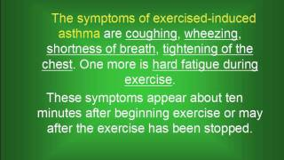 Exercise Induced Asthma|Sport Induced Asthma