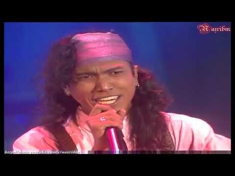 Hattan - Memburu Rindu (Live In Juara Lagu 91) HD
