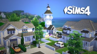 The Sims 4 - Let's Build a Gated Community! (Realtime) Part 5