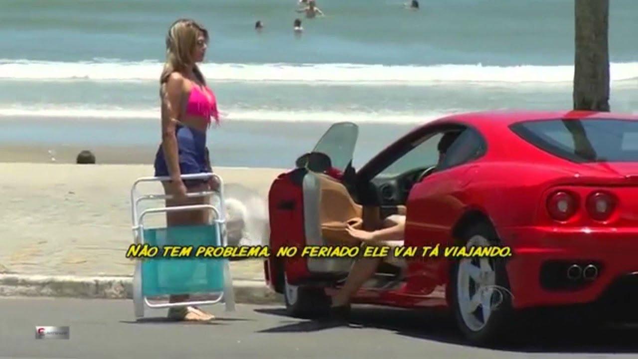 Qualquer homem consegue pegar mulheres com uma Ferrari   veja o resultado se rea