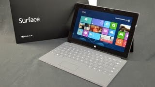Microsoft Surface: Unboxing & Demo