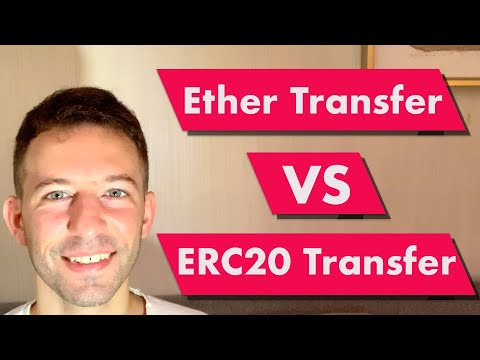 What Is The Difference Between Ether & ERC20 Token Transfers?