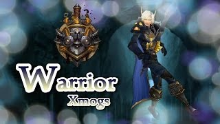 Warrior Transmogs   Fearless Blues Xmog Set