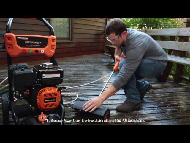 Generac SpeedWash 7122 3200 PSI Gas Pressure Washer Review