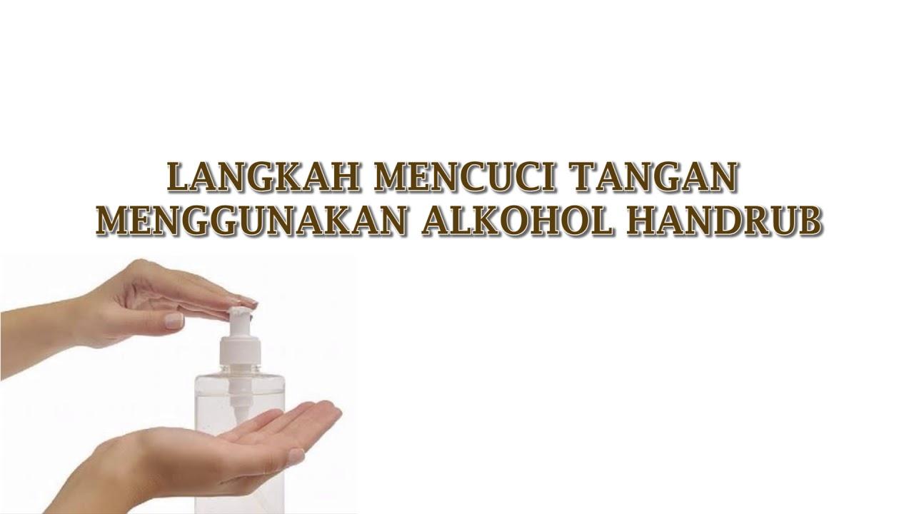 Cuci Tangan Handrub Youtube