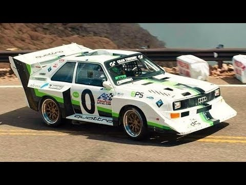 Audi Quattro S1 E2 Pikes Peak // 900Hp Group B Monster - Onboard & Fly-By