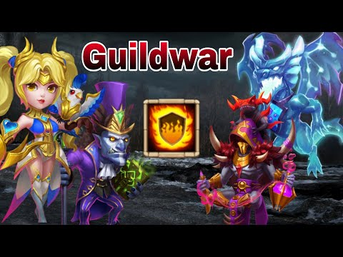 Guildwar | Flame Gaurd Team | Best Team | Top-5  | Head To Head | Castle Clash