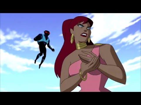 Liga Da Justiça VS Nevasca,Arraia Negra e Giganta