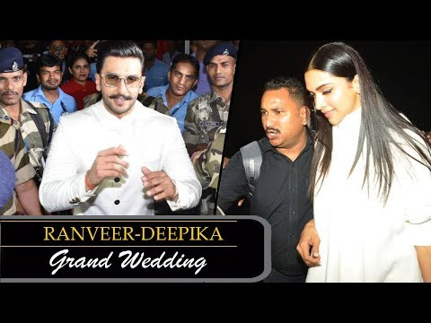 MUST WATCH: Ranveer & Deepika leave for Wedding in Italy with Family Mp3