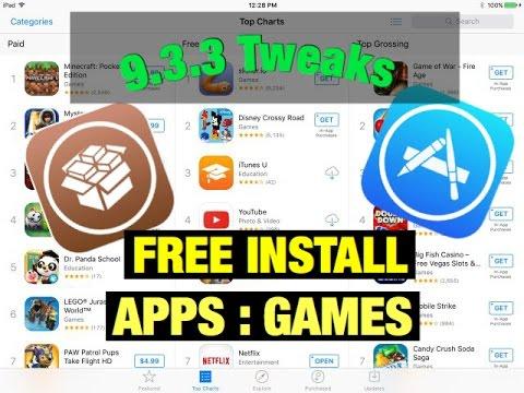 APPS STORE : Tweaks 9 3 3 Buy apps FREE CYDIA