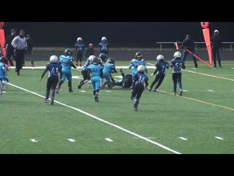 Youth Football - 8U Semi 2018 Huntingtown Hurricanes Vs Middle River Renegades