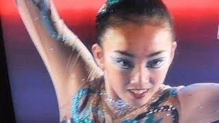 フィギュアスケートグランプリ第2戦スケートカナダの女子ショートプロ...
