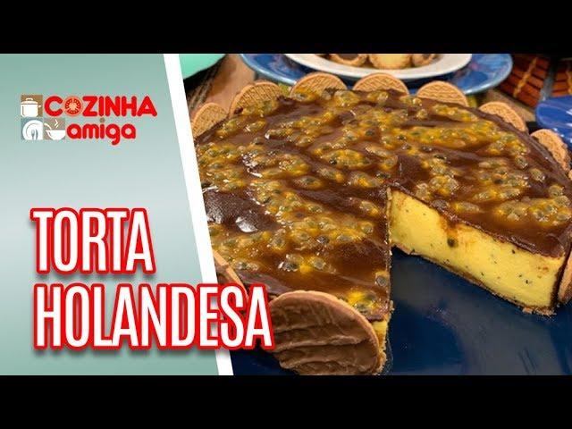 Torta Holandesa de Maracujá - Alê Peruzzo | Cozinha Amiga (17/01/19)