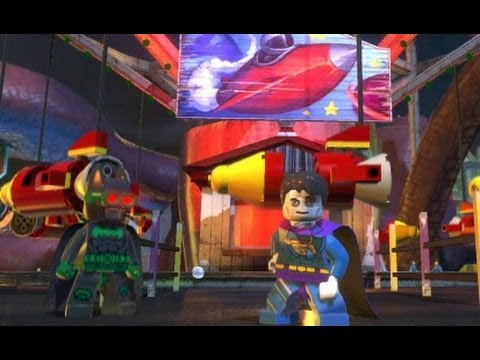 LEGO Batman 2: DC Super Heroes - Every Playable Character (DLC Included)