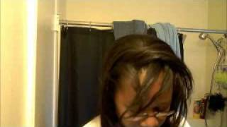 How to apply a Half-Wig that looks Natural!, Protective Styles for Relaxed Hair