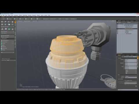 Using MODO with 3ds Max: Action Centers