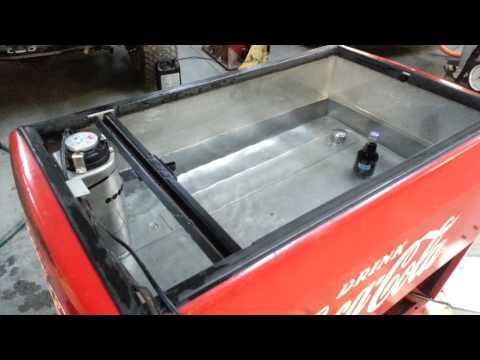 Westinghouse WE-6 Coca Cola Coke Wet Cooler - YouTube
