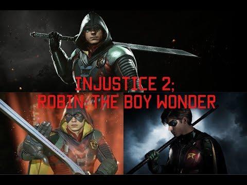 Injustice 2; Robin: The Boy Wonder