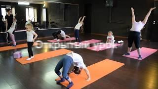 Открытый урок по художественной гимнастики Balance