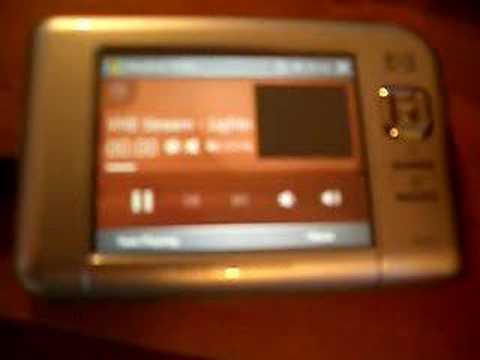 Streaming DivX to PDA with VME
