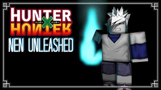 GETTING LA MIA PRIMA NEN!!! Roblox: Hunter X Hunter: Nen Unleashed: