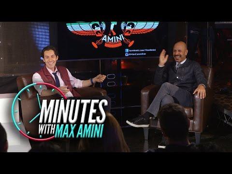 Minutes With Max Amini Season 2 Ep 11 دقیقه هایی با مکس امینی فصل ۲ قسمت Maz Jobrani ۱۱